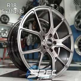 Jual Pelek Mobil Honda Accord Ring 18 HSR Di Toko Velg Mobil Medan