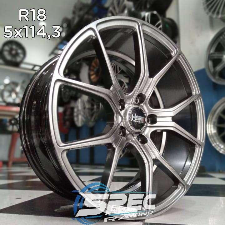 Jual Pelek Mobil Honda Accord Ring 18 HSR Di Toko Velg Mobil Medan 0