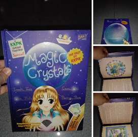 Buku Anak KKPK Dar! Mizan hardcover preloved Magic Crystal
