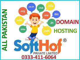 Free Domain Registration with Hosting in all Pakistan