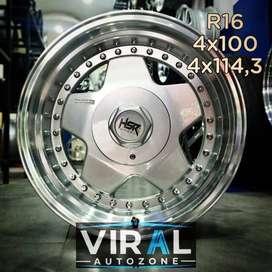 jual Velg celong HSR r16 bisa dicicil di toko Velg Mobil Banda Aceh