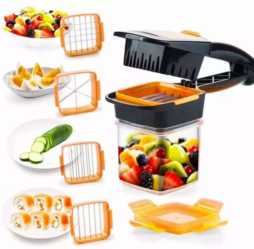 Fast Sharp Nicer Dicer Quick for Kitchen Vagi Cutting Time Saver