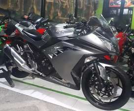 Ninja 250 cc Grey Super Mulus Dp Minim (FMS) GRESIK
