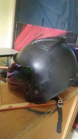 Sejenis helm nhk r6 warna