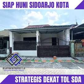 Rumah 2 Lantai Paling Murah Sidoarjo Kota cuma 300Jtan dekat Pintu Tol