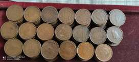 British copper coins