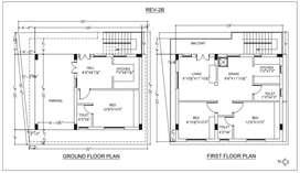 3BHK G+1 Independent House/car parking