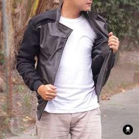 Comby Leather Jacket Keren(SK-51)