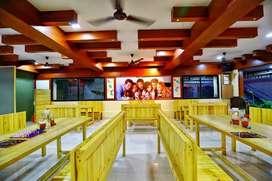 Furniture of cafe / restaurant