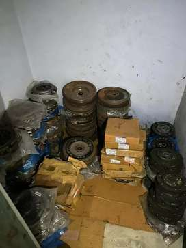 Car clutch plates and ply wheels