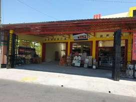 Dijual Toko besi plus isinya plus 1 rumah pinggir jln Aspal diKlaten