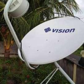 NEW FULLSET PARABOLA DIGITAL MNC VISION INDOVISION