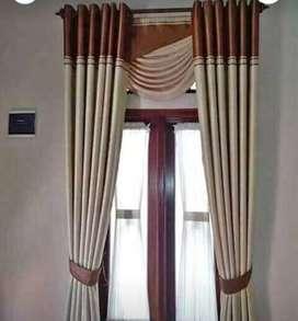 Gorden gorden hordeng minimalis Korden curtain blinds