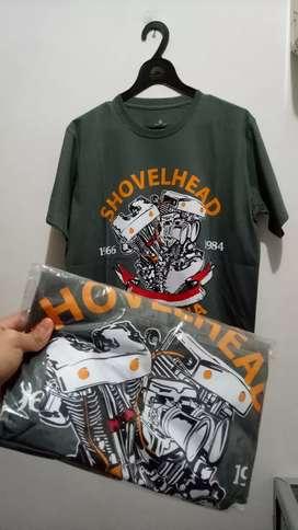 T-shirt Shovelhead harley davidson