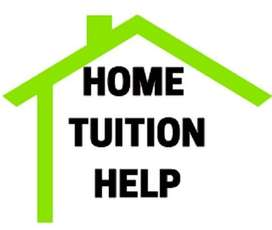 Home tuitions available