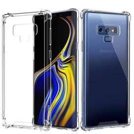 Casing Samsung Note 9 Anticrack / ACRYLIC Case Silicone Premium