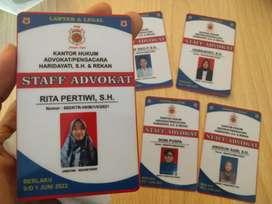 Cetak Id Card Murah Lampung
