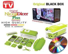(Latest) Genius Nicer Dicer Made By German..Black Box