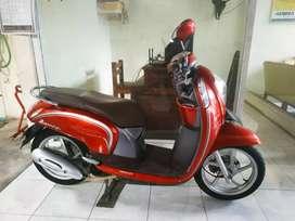 Honda Scoopy 2015 akhir merah silver Bali darma motor