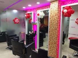 Branded salon Unisex Salon and spa sales at Coimbatore