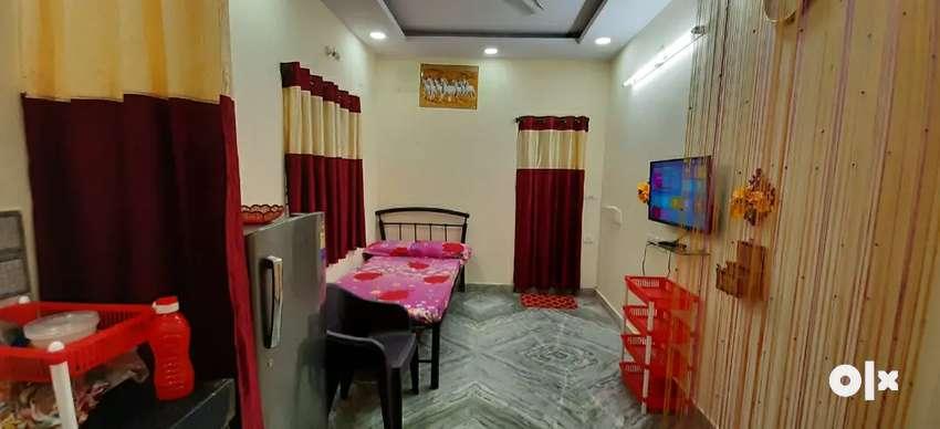 Single room with furnifshed house for rent banjara Hills kbr  Park