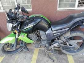 Yamaha fazer remodelled to FZ for sale in good condition