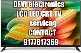 LED LCD CRT  TV servicng
