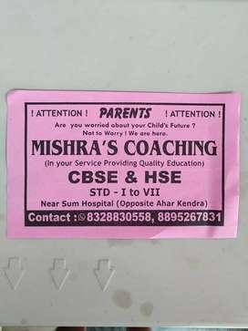 MISHRA'S COACHING