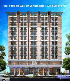 Book Your Flat in 5 Lacs Only at Prime Location of Karachi