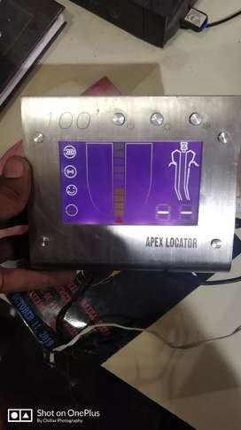 Dental endo Apex locator in unused condition