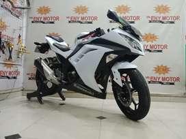 05¶ Skuy Gercep Kawasaki Ninja 250fi th 2013 Non ABS Putih - Eny Motor