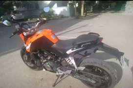 It is a will maintained two wheeler that has been less driving
