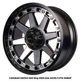 jual velg baru CARUBAN H83743 HSR R20X9 H6X139,7 ET15