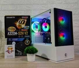 PC GAMING MURAH ATHLON 3000G   i3 10100F   i5 10400F   RYZEN 5 3400G 
