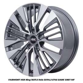 Velg mobil murah HSR FAIRMOND Ring 18x7,5 Xpander Rush Terios CRV hrv