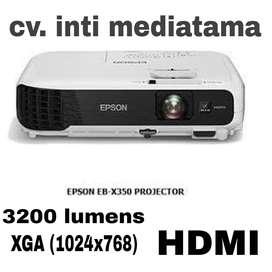 LCD Proyektor EPSON EB-X350. 3200 lumens. XGA (1024x768). HDMI. BARU