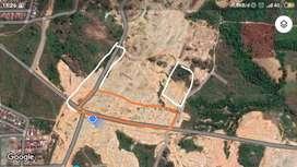 Jual tanah 1.95 Hektar (Strategis dekat dengan pusat Kota Banjarbaru)