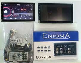 HEAD UNIT TV ANDROID ENIGMA 7 INCH EG-7920 OS 9 CD/DVD+kamera +pasang