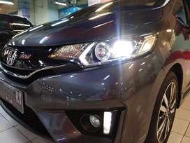 KM Rendah Mobil Sedan Sport Honda Jazz 1.5 RS Manual M/T 2015 Grey