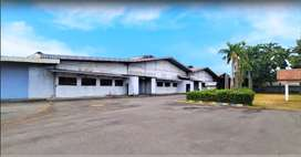 gudang pabrik & gedung kantor ex industri plastik luas 4,4ha Karawang