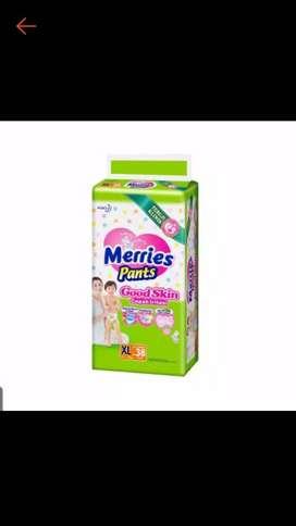 Sale Pampers Merries