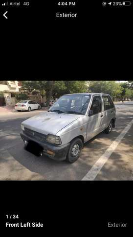 Maruti 800 AC with good condition pure petrol running car