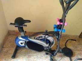 Alat Olahraga Bisa Treadmil Dan Sepeda Statis (Orbitreck)