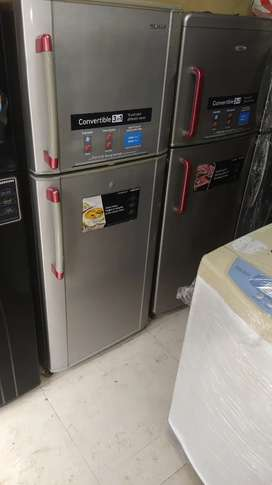 With 5 year warranty samsung 250 liter double door fridge