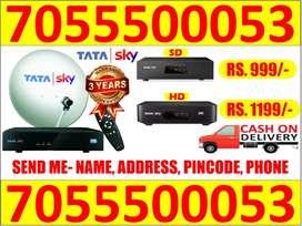 Tata Sky Anriod Dish Tv Tatasky 4k Airteltv 6 Month free firestick