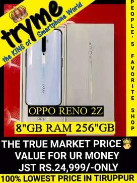 TRYME (256Gb 8Gb RAM) OPPO RENO 2Z Full Kit Box