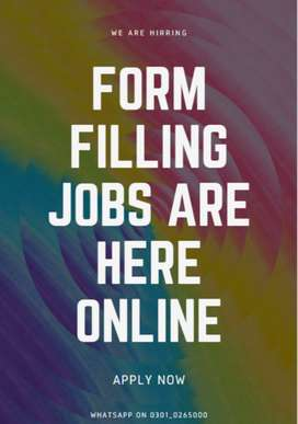 Bringing new anonymous form filling jobs in can earn cash easily