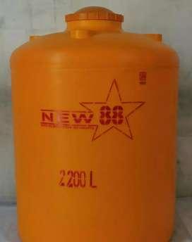 Tandon air 2200 liter wonosari bahan plastik siap kirim 24jam