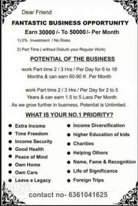 Part time or Full time Business