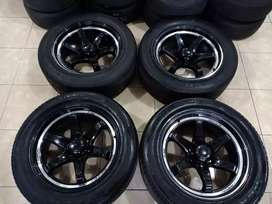 Lenso RT7 R20 Ban 285,/50 Ccok Fortuner,Pajero,Hilux dll